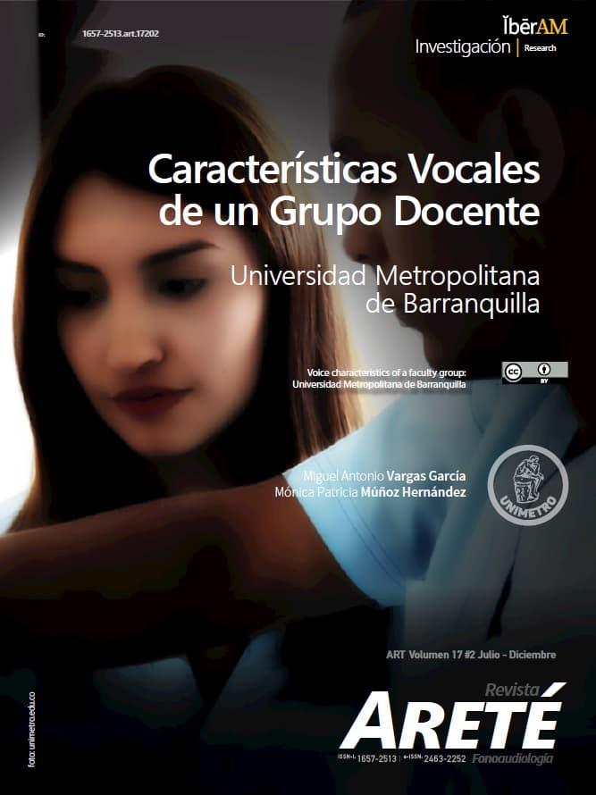 Características Vocales de un Grupo Docente: Universidad Metropolitana de Barranquilla